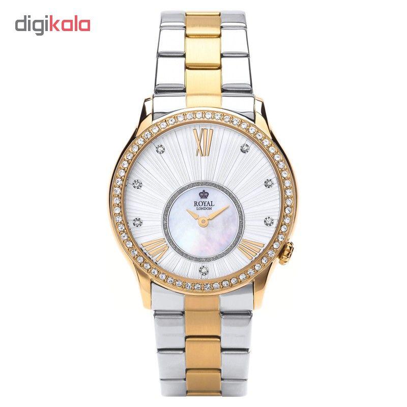 ساعت مچی عقربه ای زنانه رویال لندن کد 08-21284              خرید (⭐️⭐️⭐️)