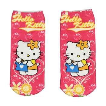 جوراب طرح Hello Kitty 2