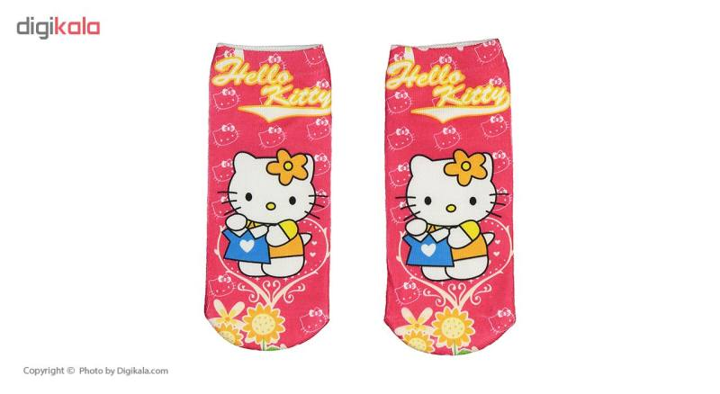 جوراب طرح Hello Kitty 2