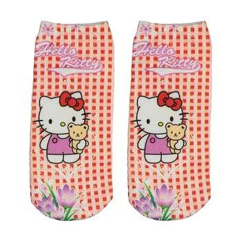 جوراب طرح Hello Kitty 3