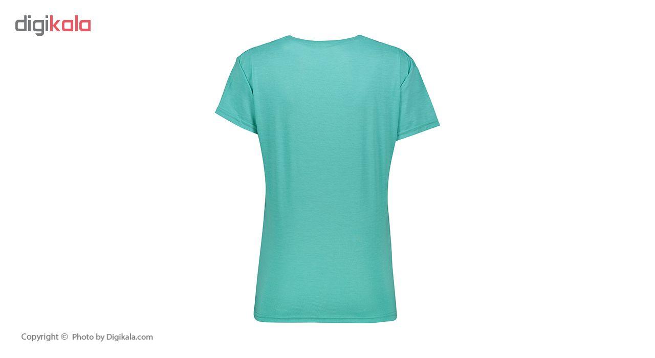 تیشرت زنانه کد 111 رنگ آبی