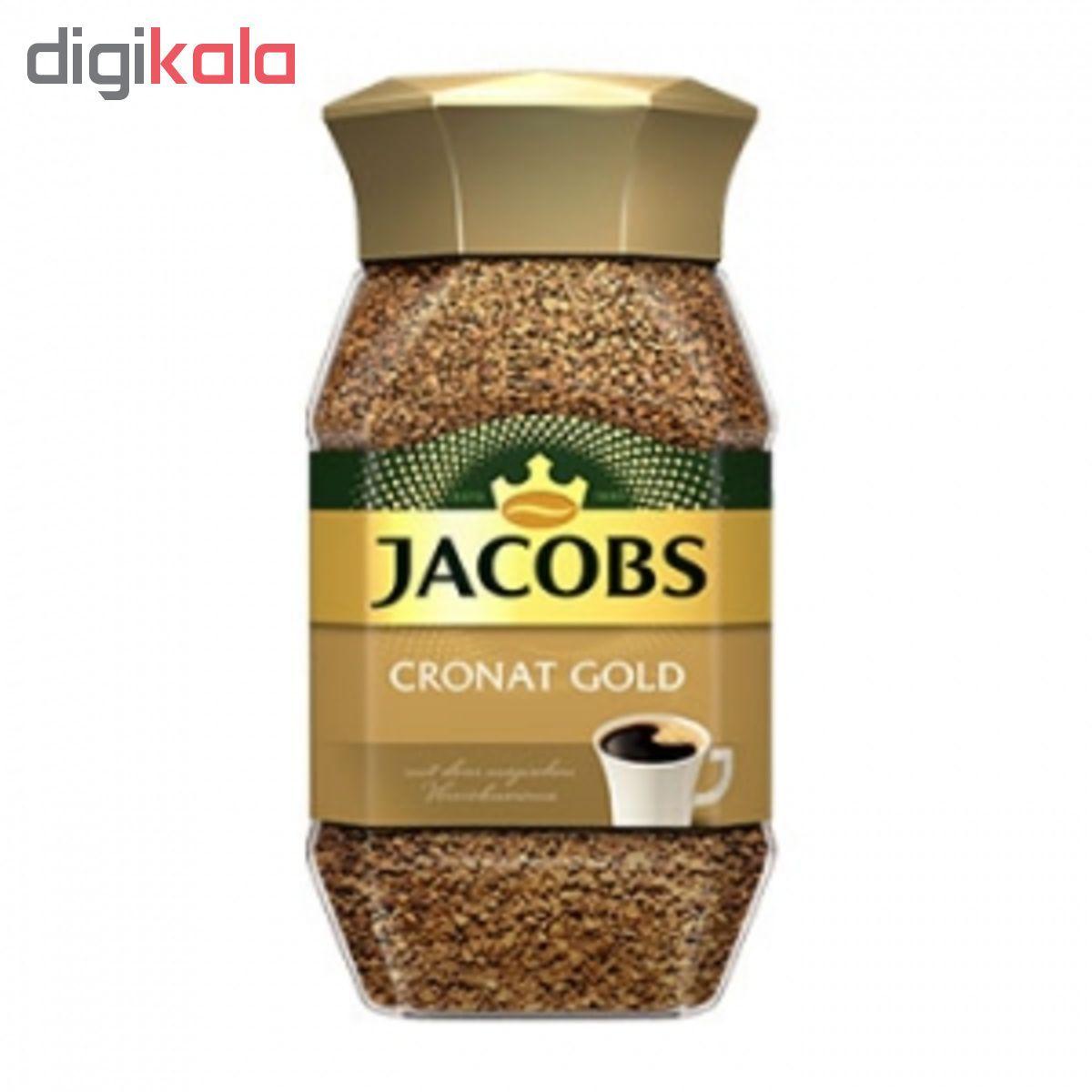 قهوه فوری جاکوبز مدل Cronat Gold مقدار 200 گرم main 1 1