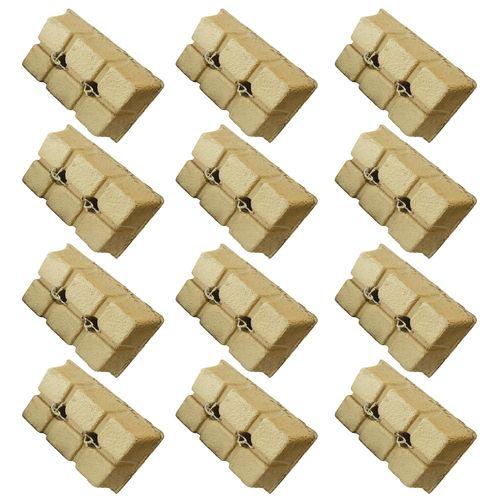زغال کبابی زغال 3-2-1 مدل z123-12 بسته 12 عددی