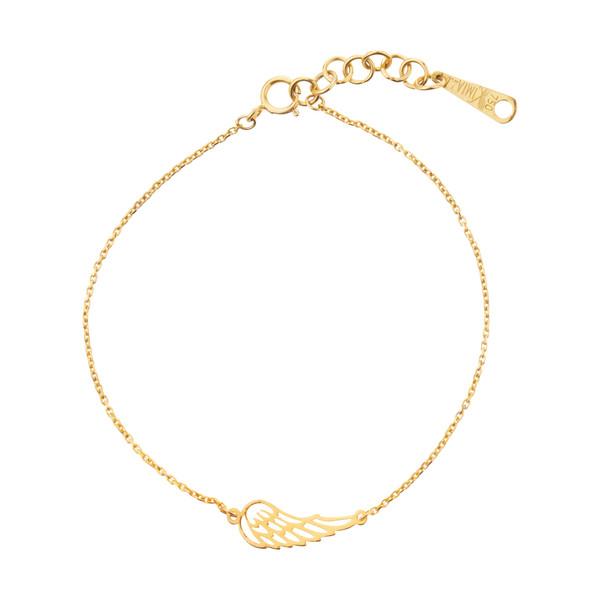 دستبند طلا 18 عیار زنانه کد 56547