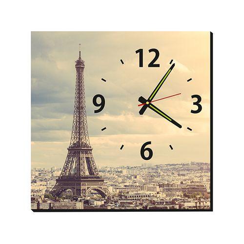 ساعت دیواری طرح Paris کد 01