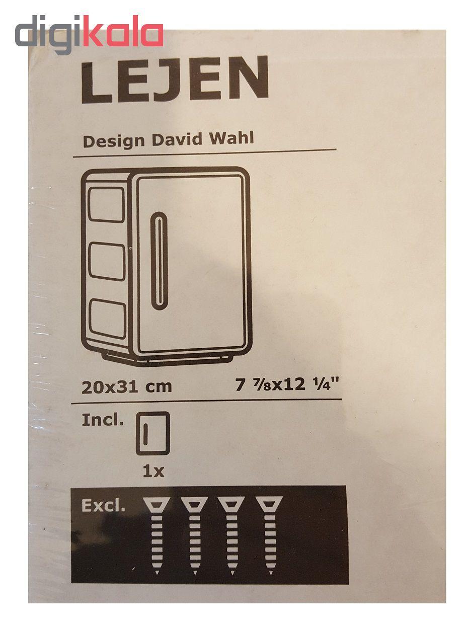 قفسه حمام ایکیا مدل Lejen main 1 5