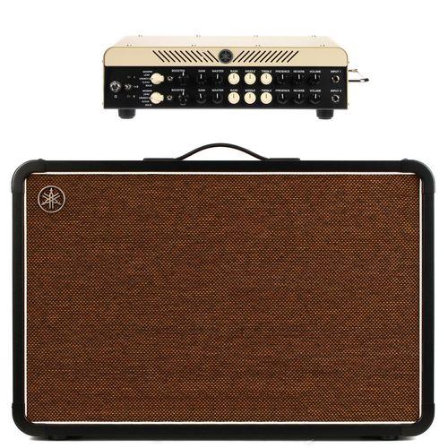 هد آمپلی فایر یاماها مدل THR100 H Dual 2 channel به همراه کابینت آمپلی فایر یاماها مدل THRC212 Stereo Cabinet