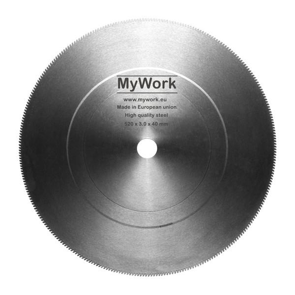 تیغه اره دیسکی آتشی  100%محصول چک به ابعاد  MYWORK 520 x 3 x 40 mm