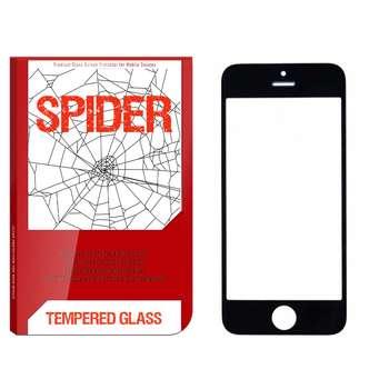 محافظ صفحه نمایش اسپایدر مدل S-FG002 مناسب برای گوشی موبایل اپل IPhone 5 / 5s / SE