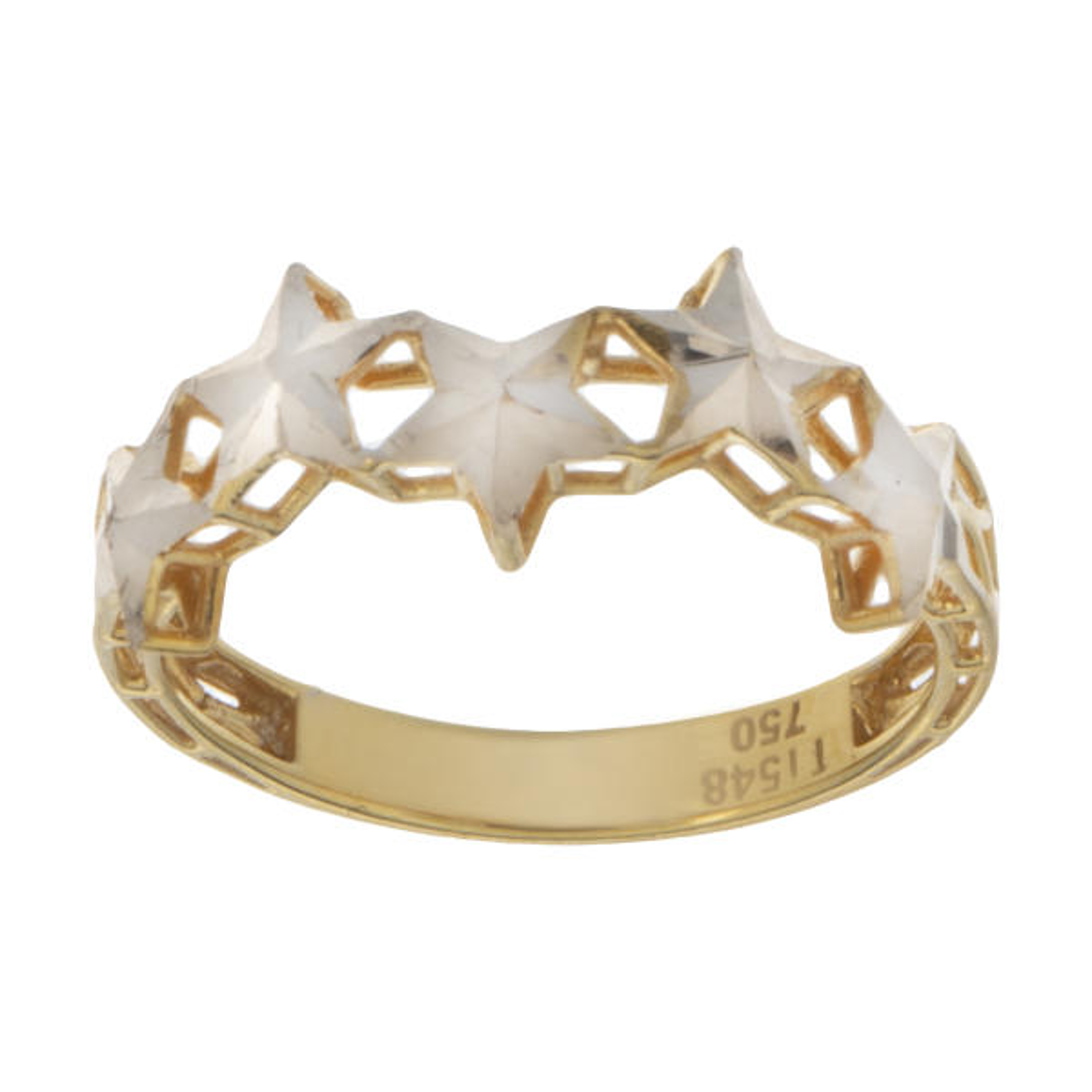 انگشتر طلا 18 عیار زنانه کد A133