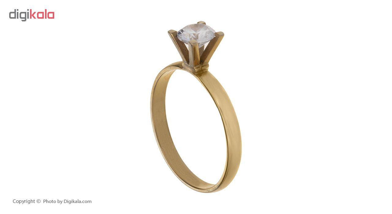 انگشتر طلا 18 عیار زنانه کد A134
