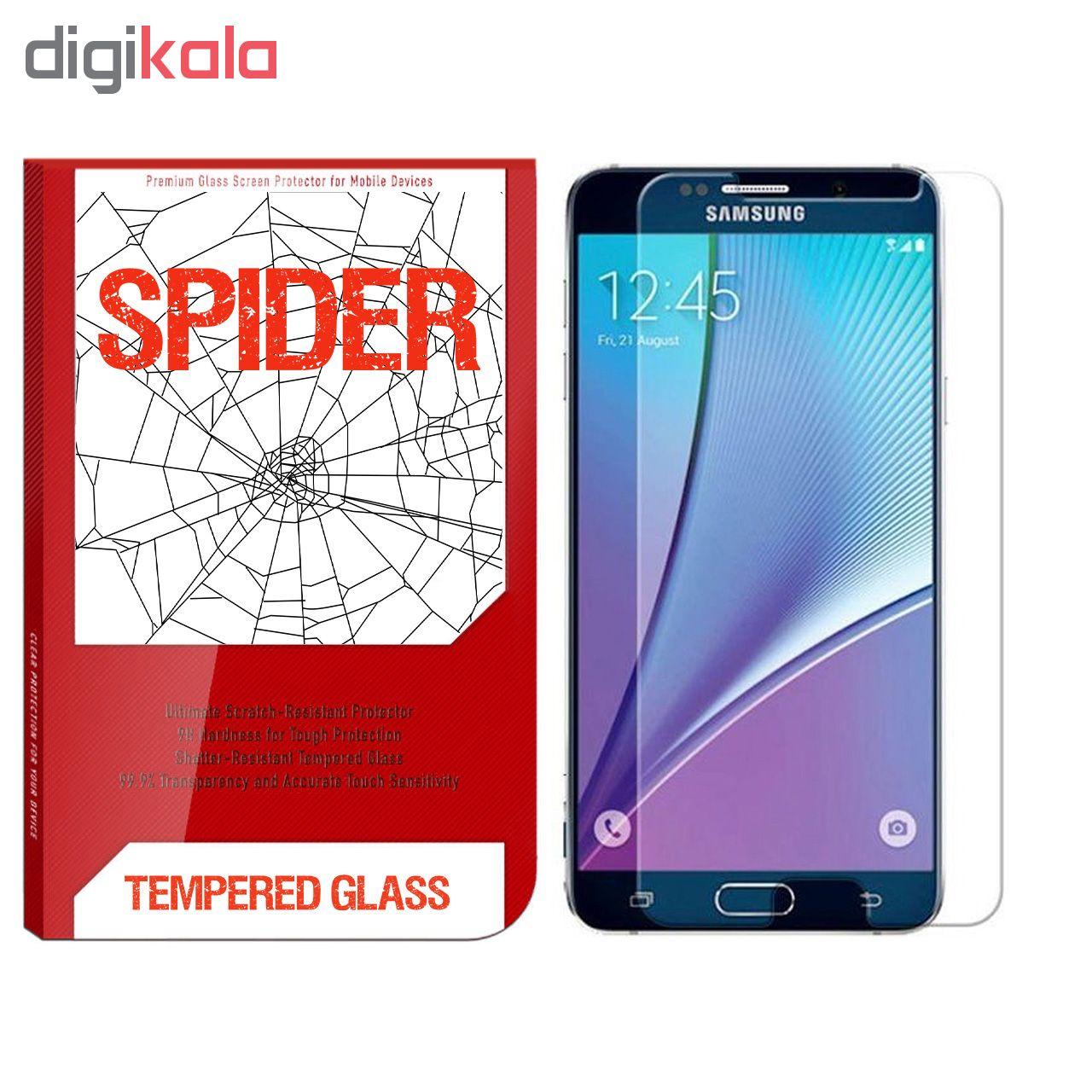 محافظ صفحه نمایش اسپایدر مدل S-TMP002 مناسب برای گوشی موبایل سامسونگ Galaxy A5 2015 main 1 1