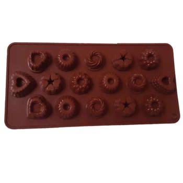 قالب شکلات مدل فستیوال کد YG-55