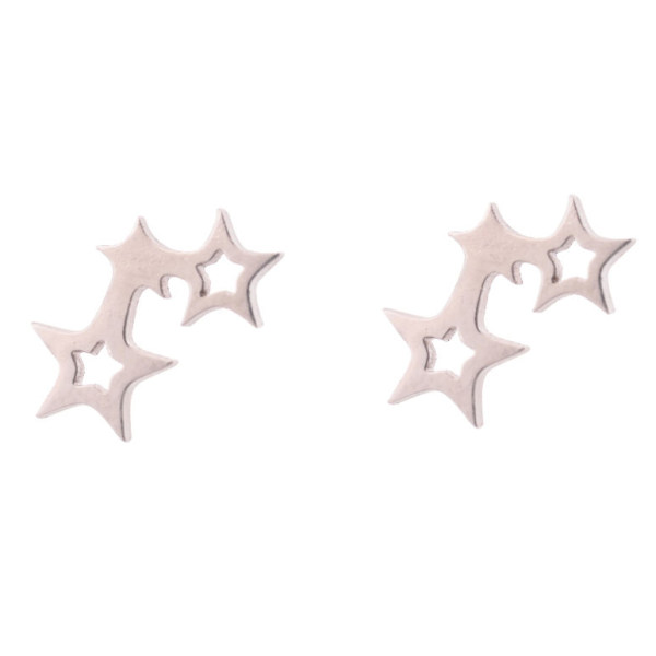 گوشواره زنانه طرح ستاره کد GO1302