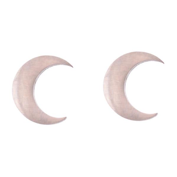 گوشواره زنانه طرح ماه کد GO1304