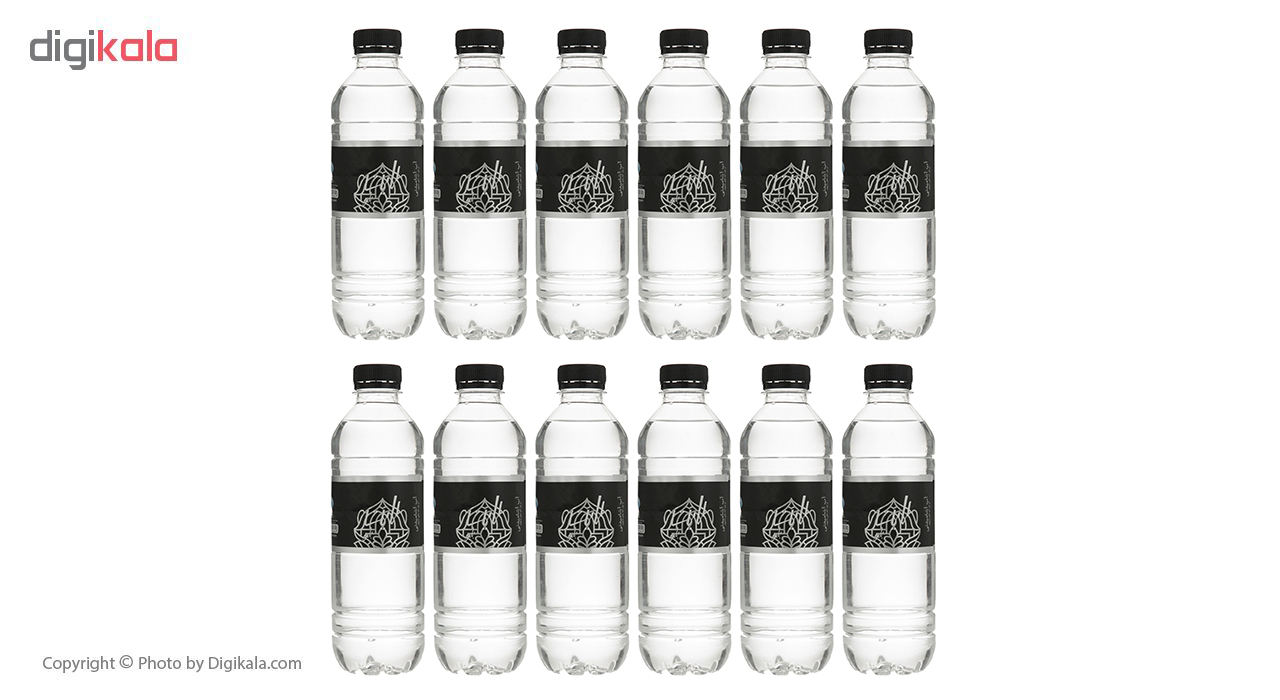آب آشامیدنی لایت بلو حجم 500 میلی لیتر بسته بندی 12 عددی main 1 5