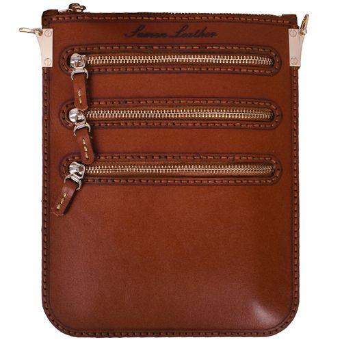 کیف دوشی چرمی مدل A005