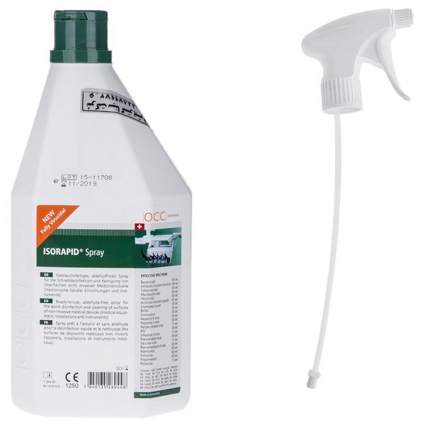 اسپری ضد عفونی کننده سطوح و ابزار او سی سی حجم 1000 میلی لیتر