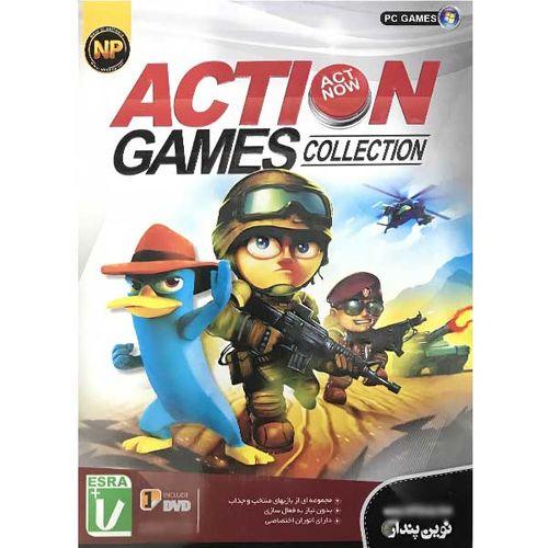 بازی action games collection مخصوص pc نشر نوین پندار