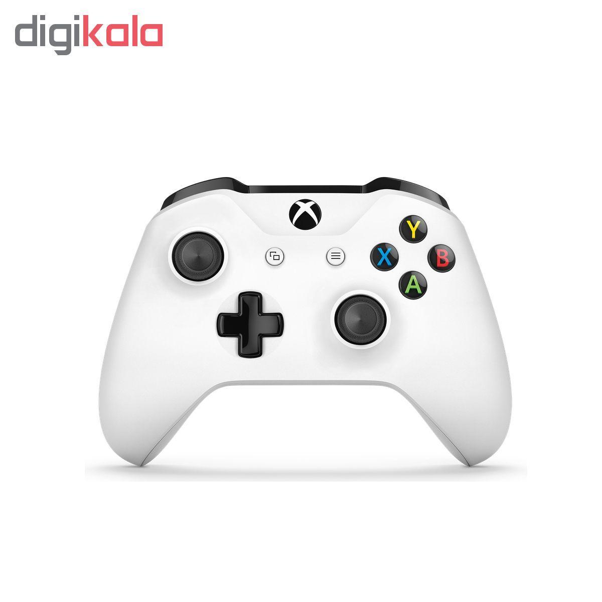 کنسول بازی مایکروسافت مدل Xbox One S ALL DIGITAL ظرفیت 1 ترابایت به همراه 20 عدد بازی main 1 4