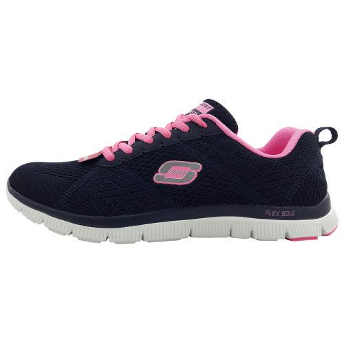 کفش مخصوص پیاده روی زنانه اسکچرز مدل Flex 12058 nv