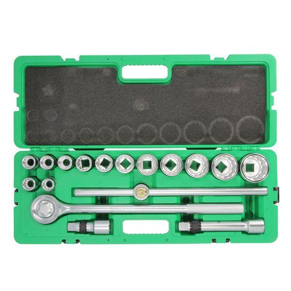 مجموعه 17 عددی آچار بکس تاپ تول مدل GCAI1702