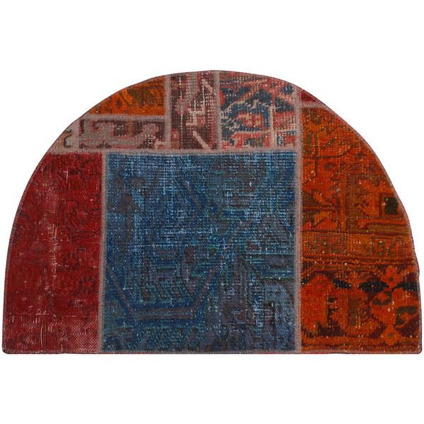 پادری کلاژ فرش هریس کد 101259 سایز 56 × 83 سانتی متر