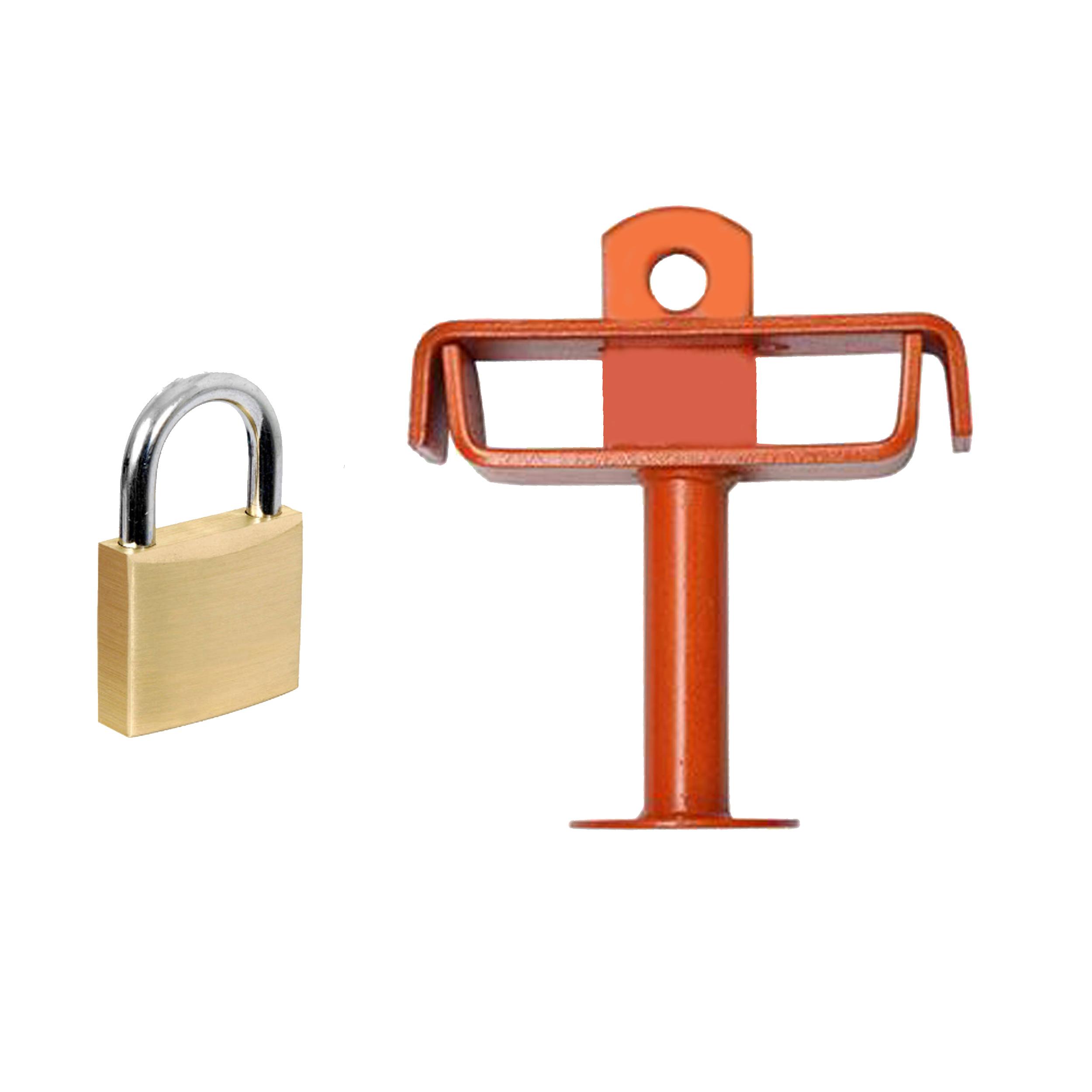 قفل پدال کد 08 به همراه قفل آویز