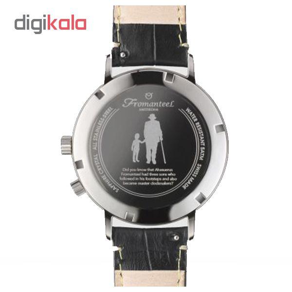 ساعت مچی عقربه ای مردانه فرومنتیل مدل Twin time W01