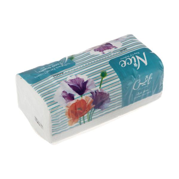 دستمال کاغذی 250 برگ نایس مدل Flower