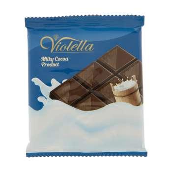 فرآورده کاکائویی تابلت شیری ویولتا فرمند وزن 55 گرم