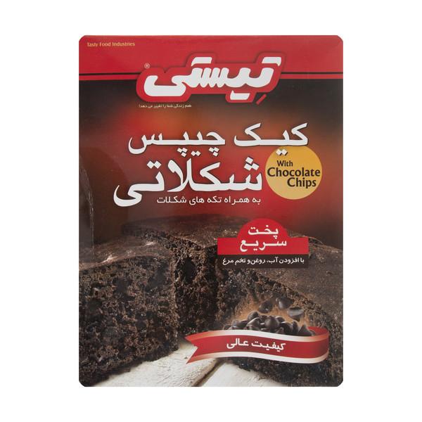 کیک شکلاتی نیمه آماده تیستی وزن 500 گرم