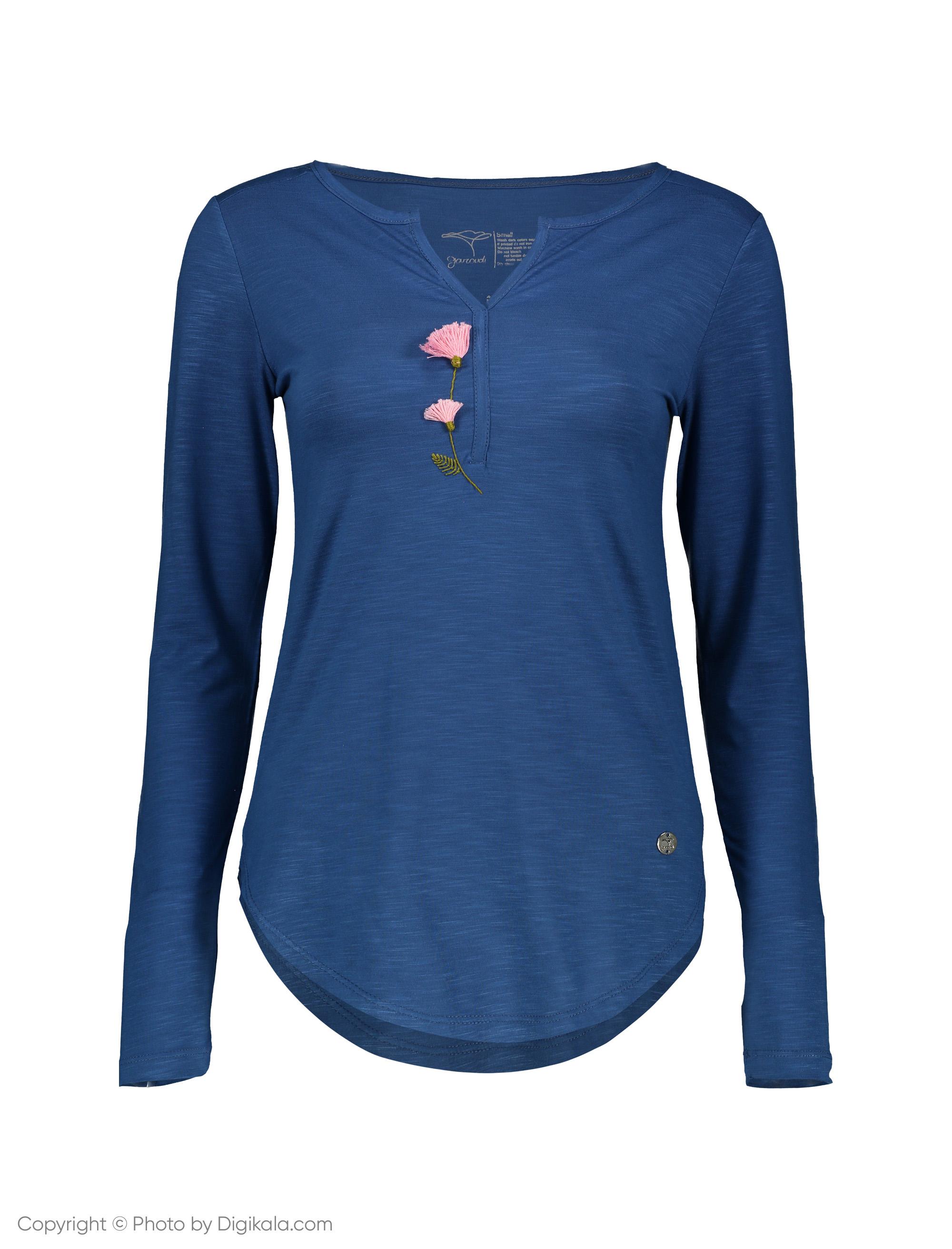 تی شرت زنانه گارودی مدل 1003107020-57 -  - 1