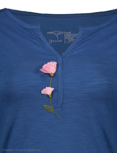 تی شرت زنانه گارودی مدل 1003107020-57 -  - 4