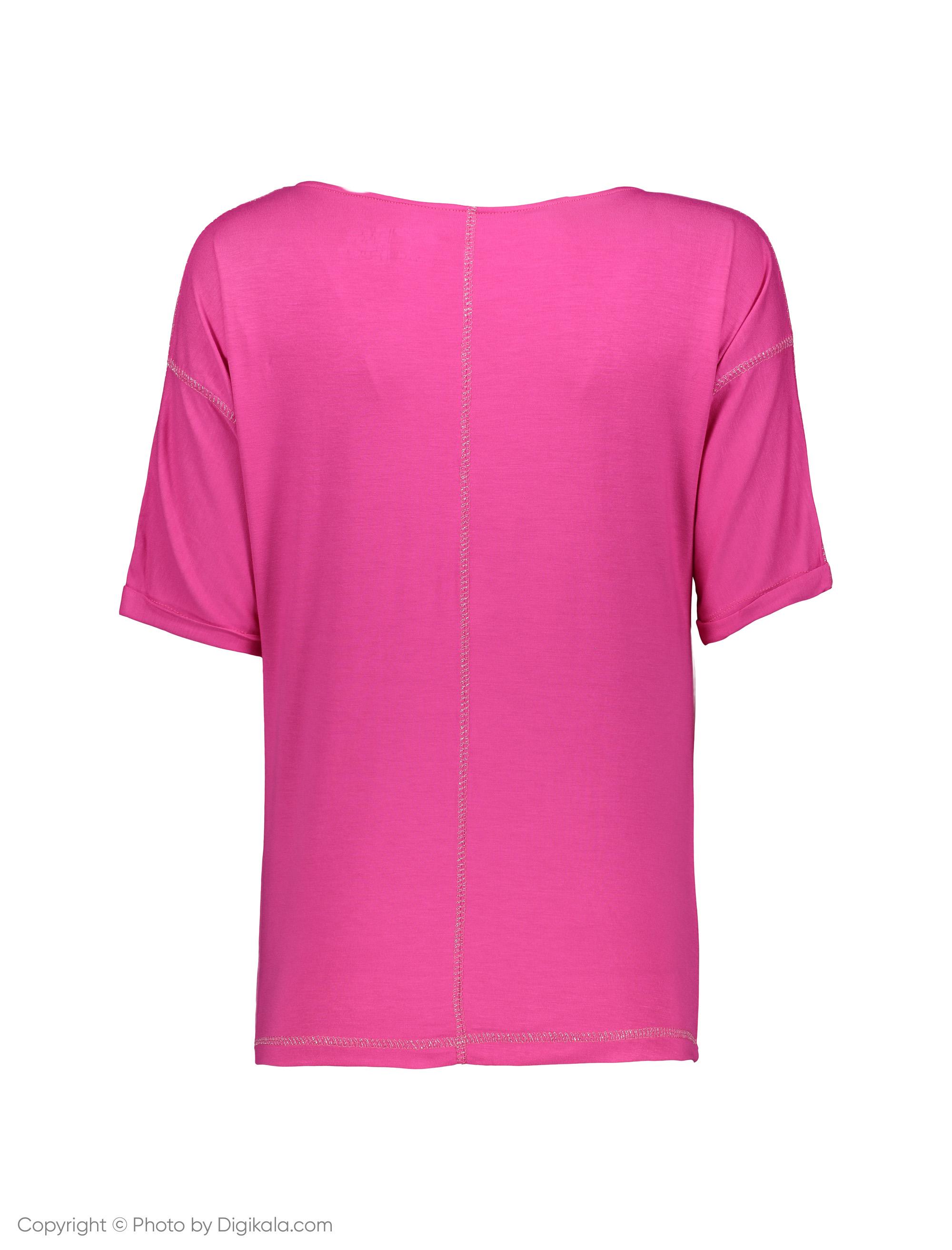 تی شرت زنانه گارودی مدل 1003103022-75 -  - 3