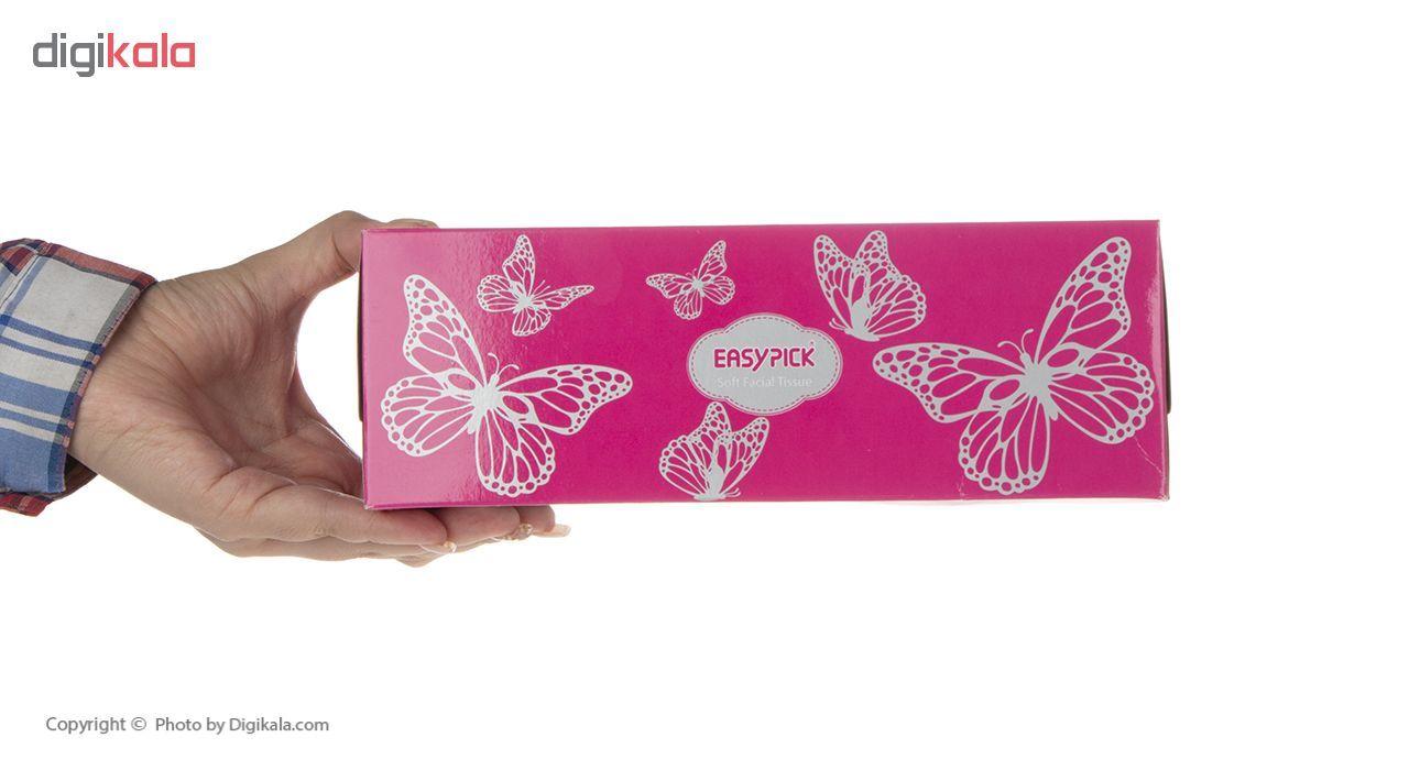 دستمال کاغذی 150 برگ ایزی پیک مدل Butterfly بسته 3 عددی main 1 6