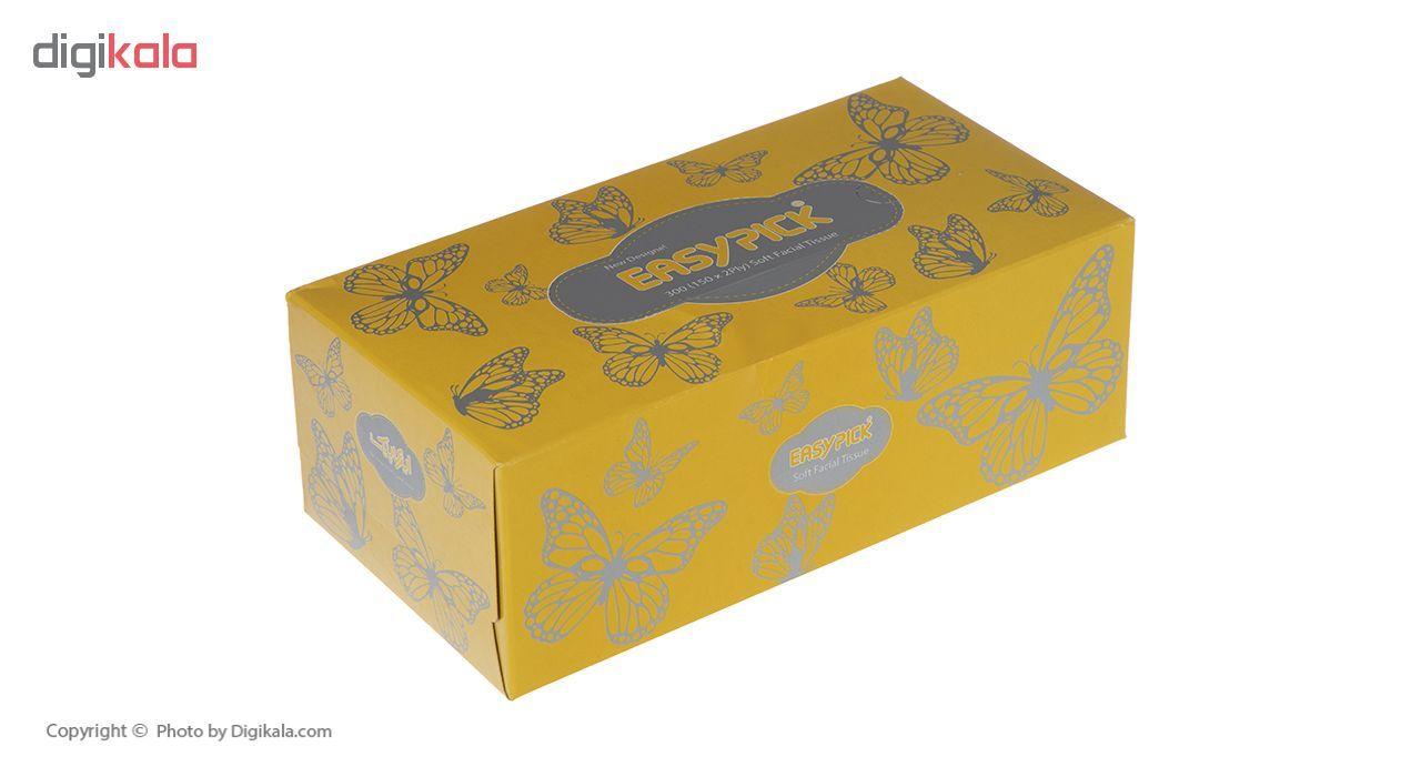 دستمال کاغذی 150 برگ ایزی پیک مدل Butterfly بسته 3 عددی main 1 12