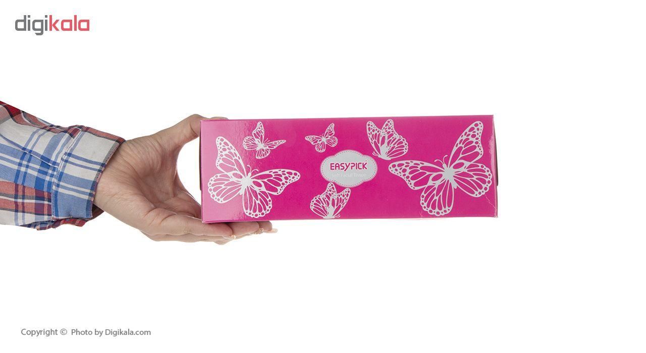 دستمال کاغذی 150 برگ ایزی پیک مدل Butterfly بسته 3 عددی main 1 21