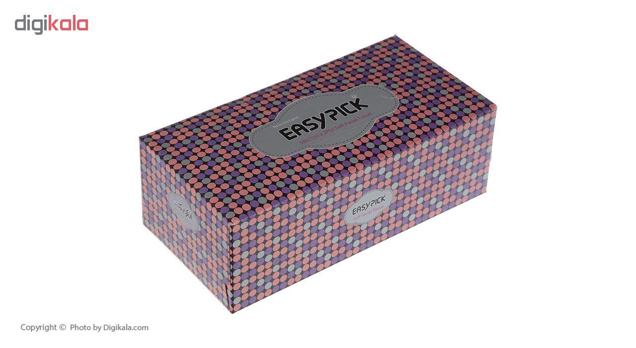 دستمال کاغذی 150 برگ ایزی پیک مدل Butterfly بسته 3 عددی main 1 24