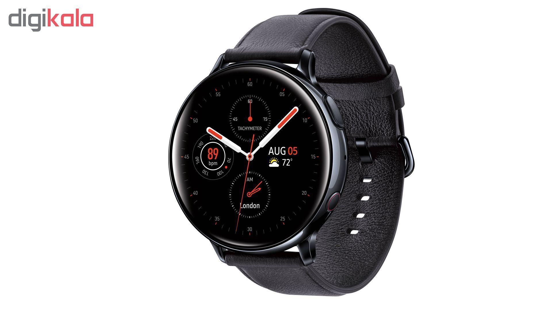 ساعت هوشمند سامسونگ مدل Galaxy Watch Active2 44mm Leatherband Smart main 1 3