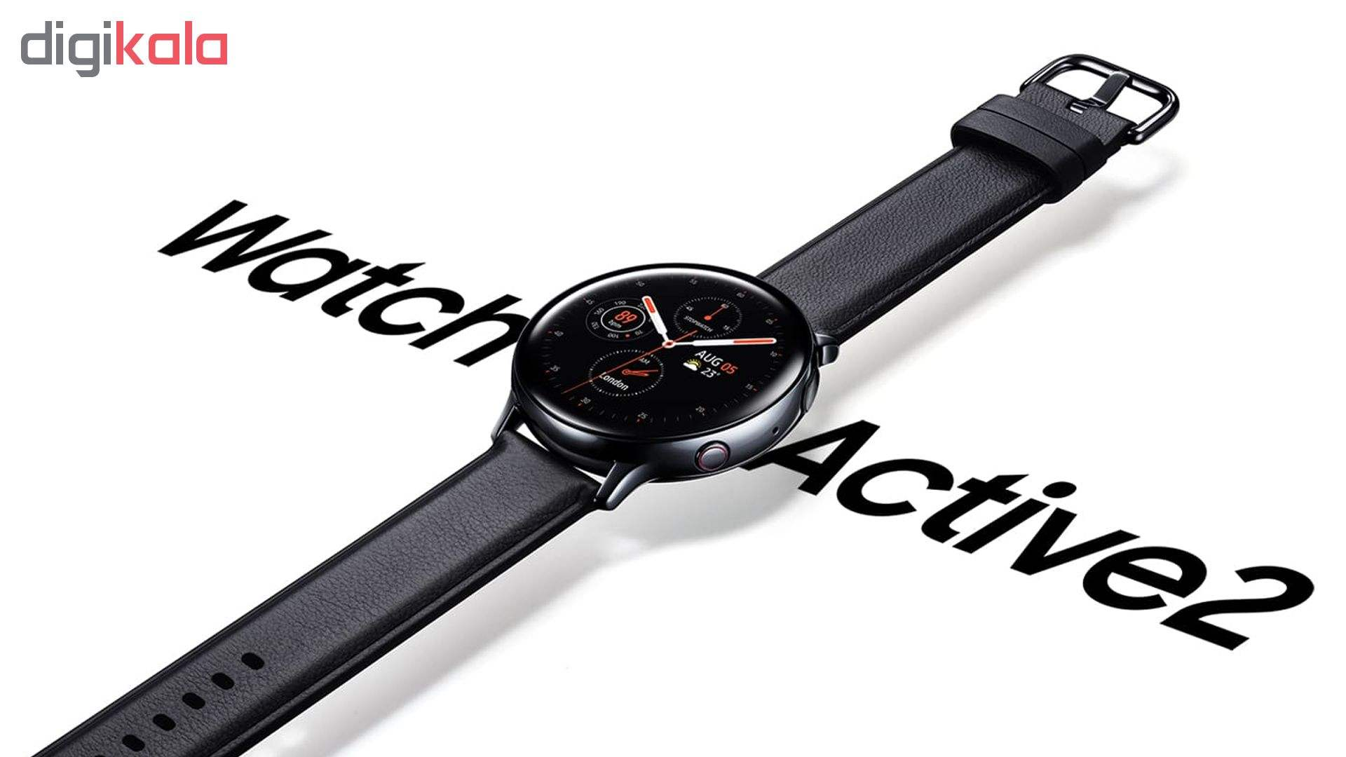 ساعت هوشمند سامسونگ مدل Galaxy Watch Active2 44mm Leatherband Smart main 1 4
