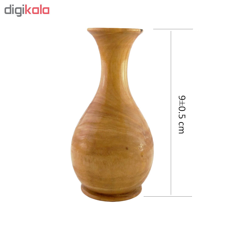 خرید                      گلدان چوبی کد Am-Kh-G04