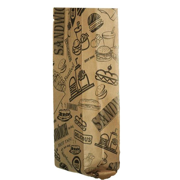 عکس پاکت یکبار مصرف ساندویچ مدل SK بسته 20 عددی
