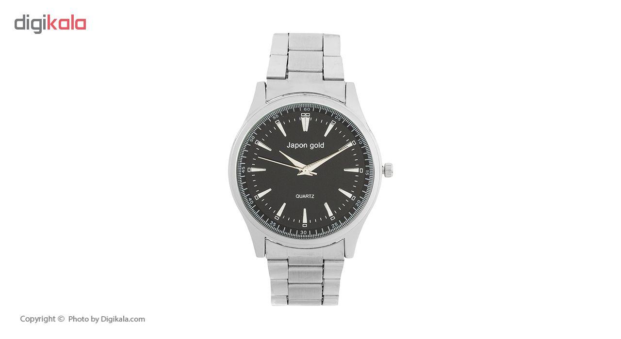 ساعت مچی عقربه ای ژاپن گلد مدل M015