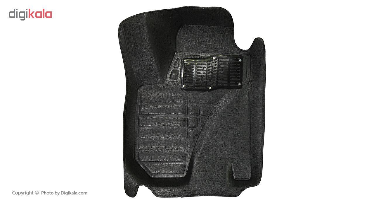 کفپوش سه بعدی خودرو کد 001 مناسب برای جک S5