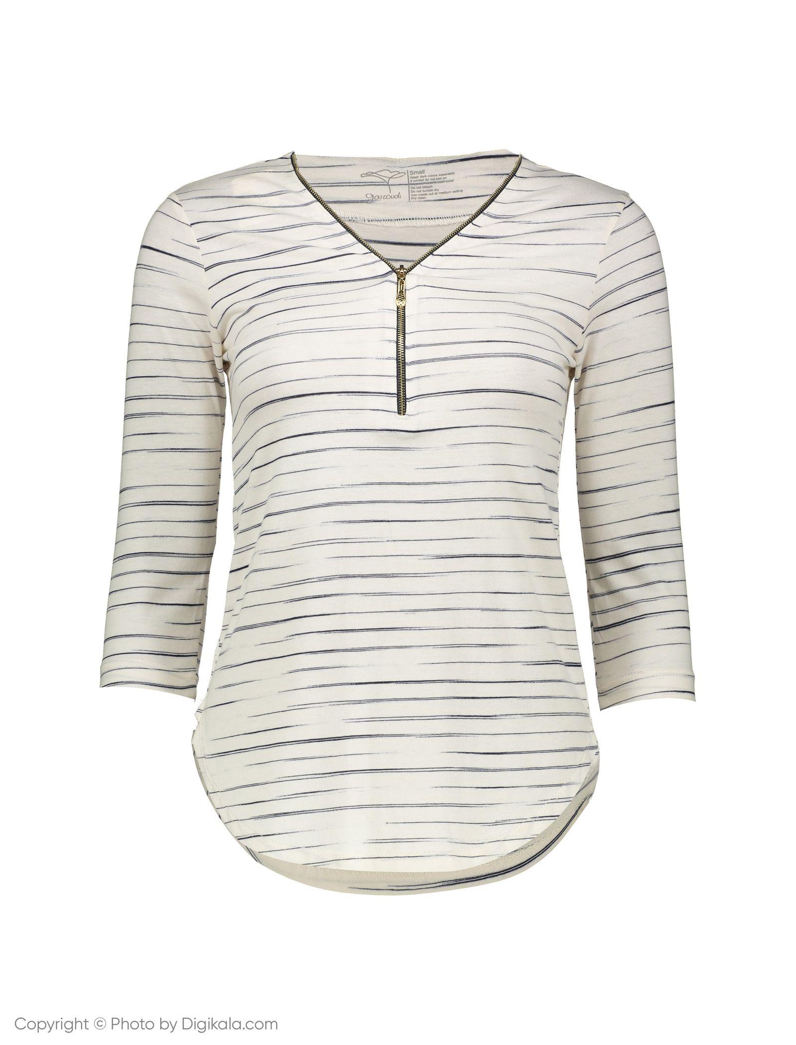 تی شرت زنانه گارودی مدل 1003103020-01 -  - 1