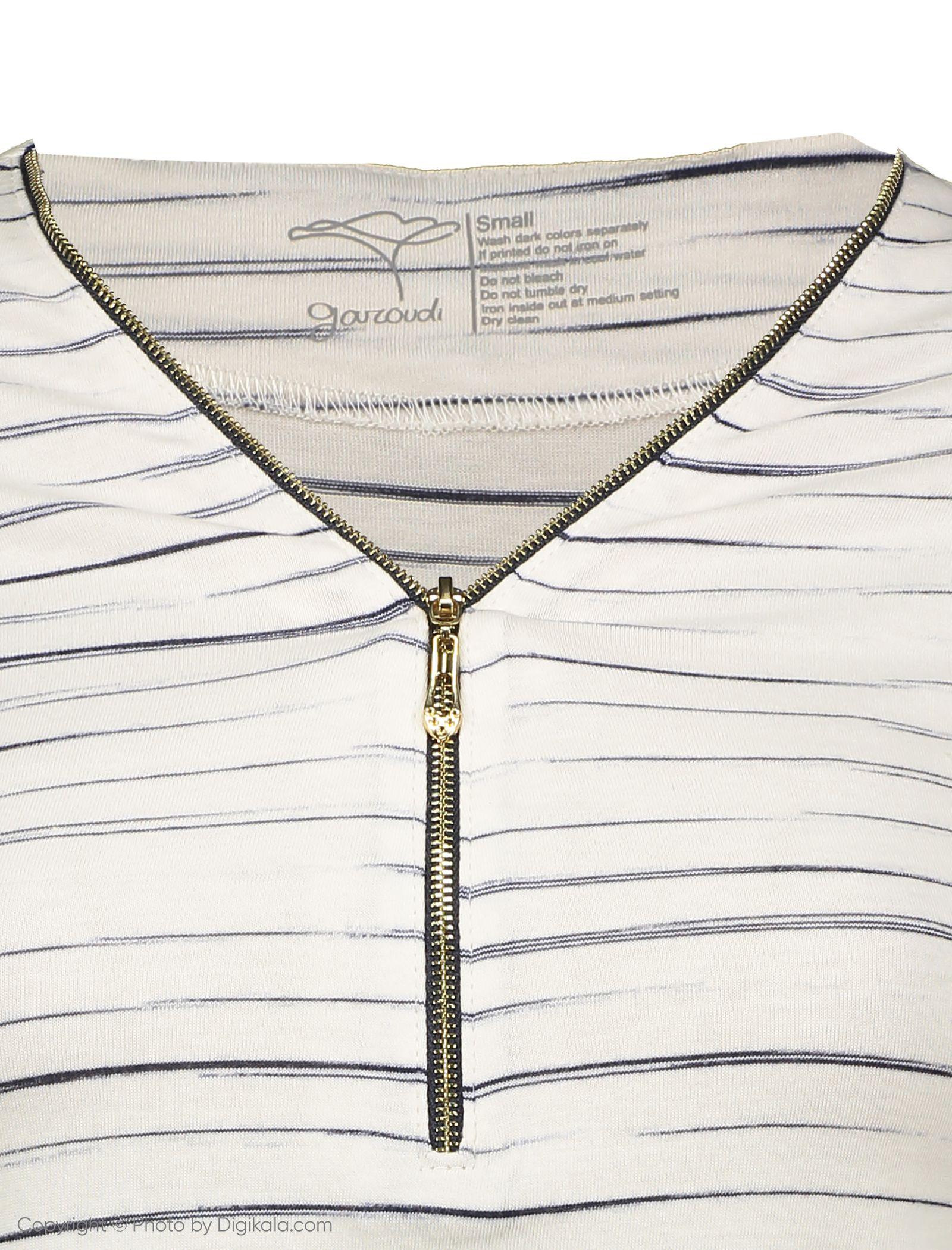 تی شرت زنانه گارودی مدل 1003103020-01 -  - 4