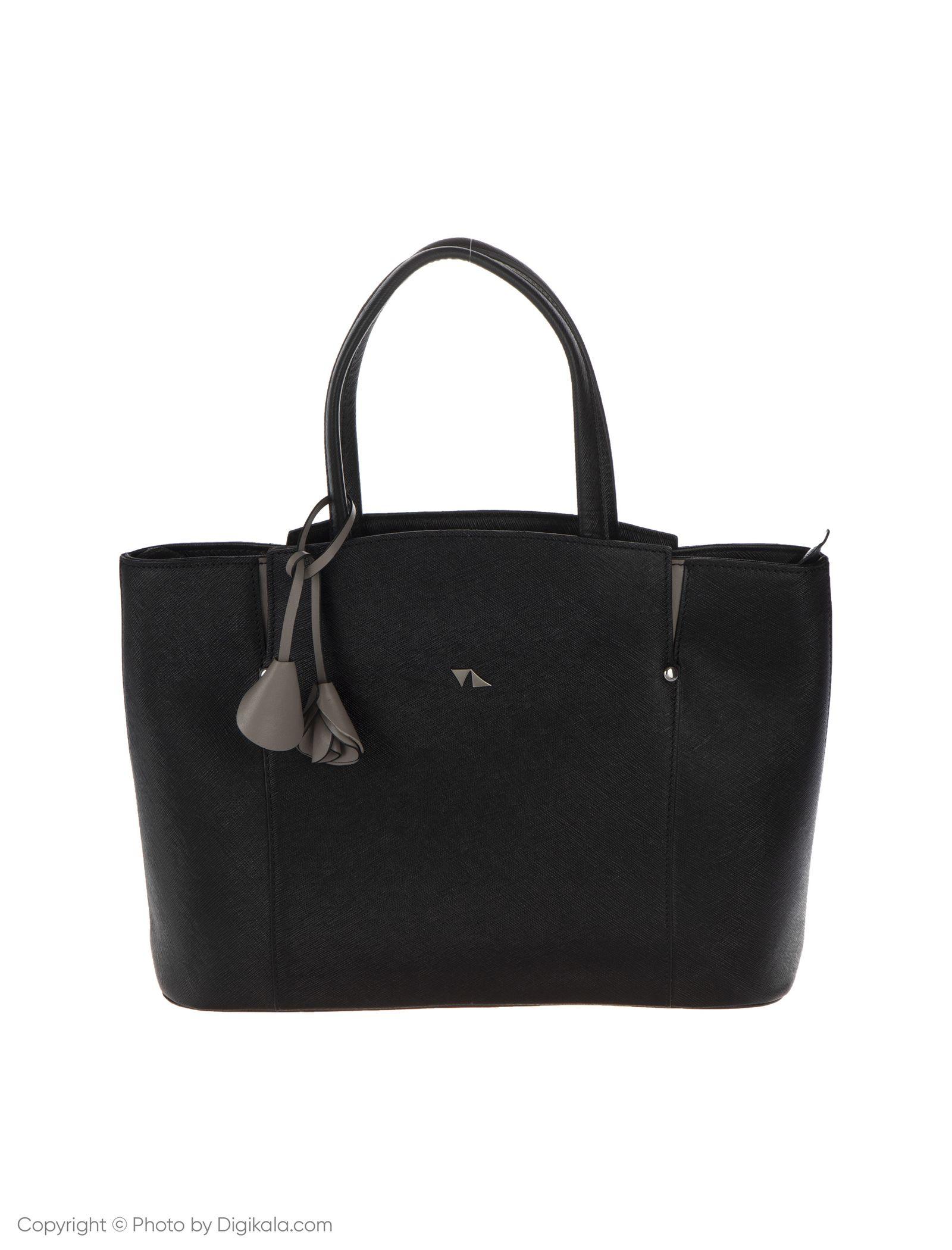 کیف دستی زنانه چرم مشهد مدل S0716-001 -  - 3