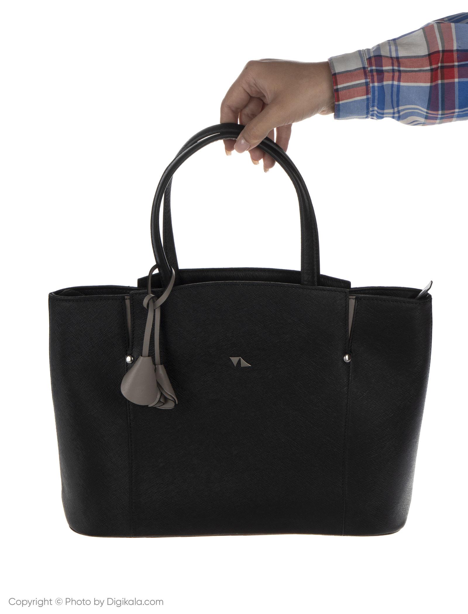 کیف دستی زنانه چرم مشهد مدل S0716-001 -  - 10