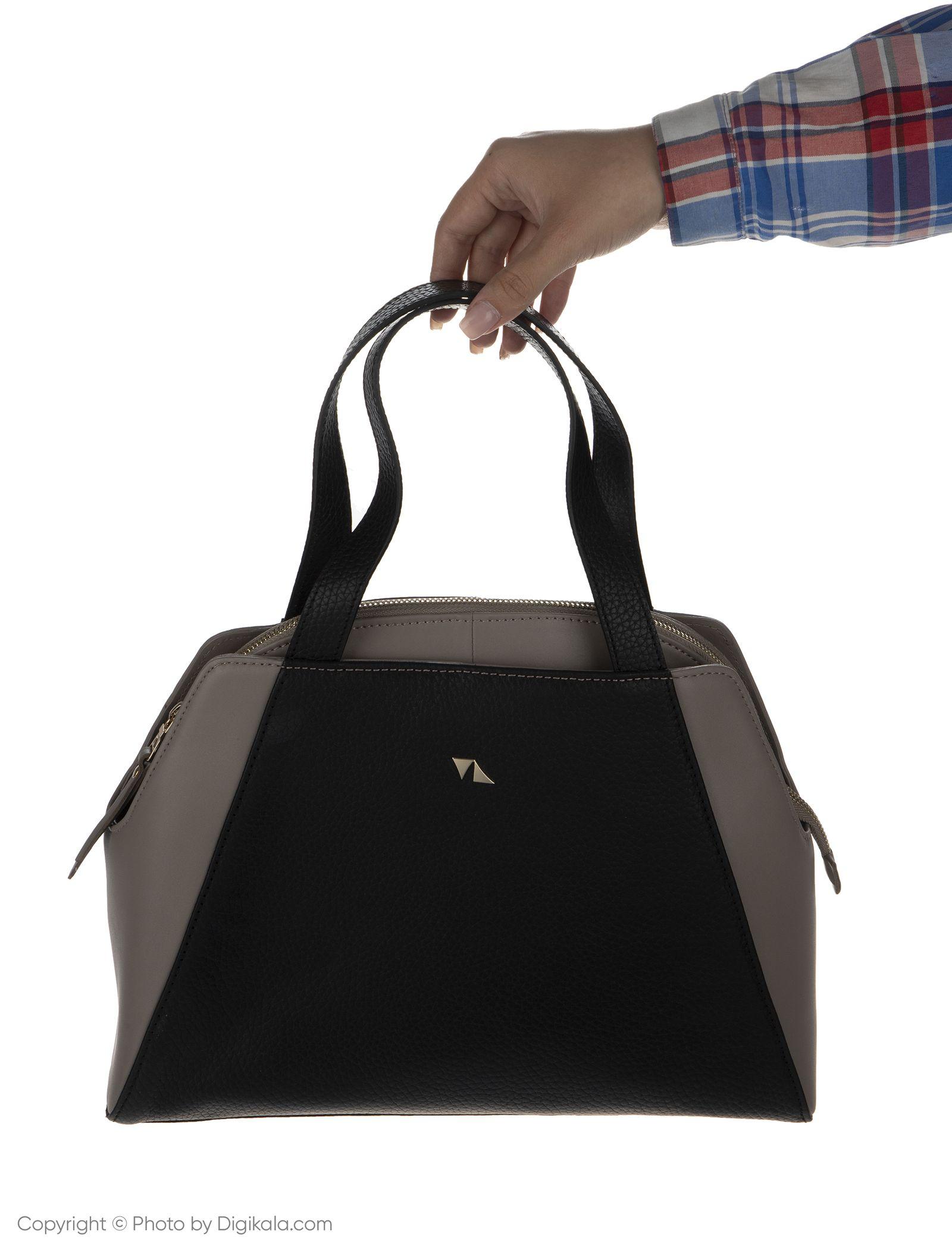 کیف دستی زنانه چرم مشهد مدل S0712-008 -  - 8